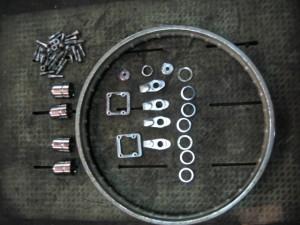 TS90ハスラークロームメッキ部品