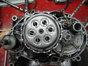 TS90ハスラーエンジンクラッチ