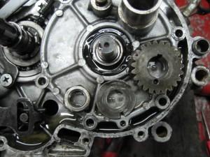 TS90ロータリーバルブ分解