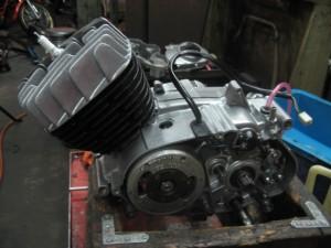 TS90ハスラーエンジンオーバーホール後