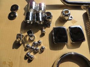 JT1/JT60 小物 クロームメッキ