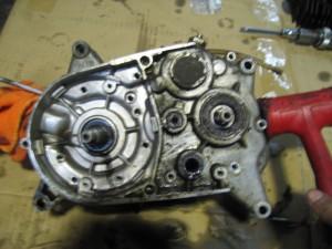 JT1 エンジン分解 クランクケース分解