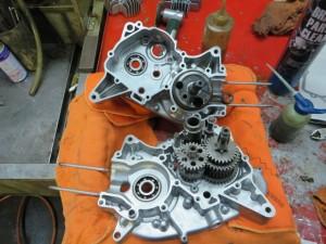 JT1/JT60 エンジン内 クランクケース クランク・ミッション