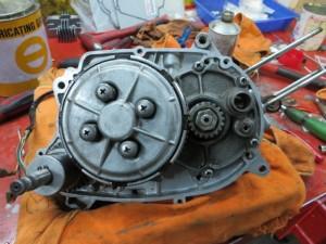 JT1/JT60 エンジン内 クラッチ側 クラッチ廻り取り付け