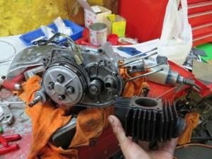 JT1/JT60 エンジン ボーリング済み シリンダー