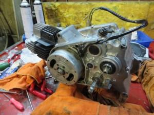 JT1/JT60 エンジン組み上がり