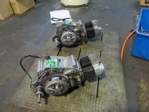JT1/JT60 エンジン組み上がり 2機
