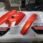 TS400初期型リペイント!塗装