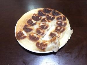 家で焼く餃子!