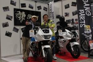 2013年東京モーターサイクルショー出展時